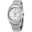 Replica Rolex Oyster Perpetual 34 Silver Dial Stainless Steel Oyster 114200SASO