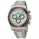 Replica Rolex Cosmograph Daytona Ice Blue Dial Platinum Oyster IBLSO 116506