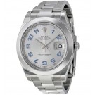Replica Rolex Datejust II Rhodium Dial Stainless Steel 116300RBLAO