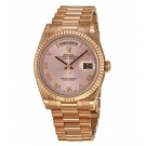 Replica Rolex Day-Date Champagne Dial 18K Everose Gold President 118235CRP