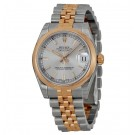 imitation Rolex Datejust Lady 31 Silver Dial Stainless Steel 18kt Pink Gold 178241SSJ