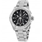 imitation Tag Heuer Aquaracer Black Dial Chronograph Stainless Steel CAY1110.BA0927