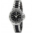 imitation Tag Heuer F1 Black Dial Steel and Ceramic Black Diamond Bezel Ladies WAH1216.BA0859
