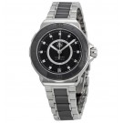 imitation Tag Heuer Formula 1 Diamond Steel and Black Ceramic Ladies WAU2210.BA0859