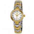 imitation Tag Heuer Link Silver Guilloche Dial 18k Yellow Gold and Stainless Steel WAT1452.BB0955