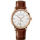 Replica A.Lange & Sohne Saxonia Manual Winding 35mm Pink Gold 219.032