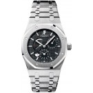 Replica Audemars Piguet Royal Oak Dual Time Power Reserve Men's Watch 26120ST.OO.1220ST.03