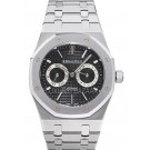 Replica Audemars Piguet Royal Oak Day-Date, Black Dial-Stainless Steel on Bracelet 26330.ST.OO.1220ST.01