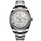 Replica Rolex Oyster Perpetual Sky-Dweller 42mm White Gold 326939-72419