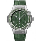 Replica Hublot Steel Tutti Frutti Dark Green 341.SV.5290.LR.1917