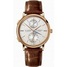 Replica A.Lange & Sohne Saxonia Dual Time Pink Gold 386.032