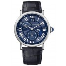 Fake Cartier Rotonde de Cartier Second Time Zone Day/Night Blue Heaven CRW1556241