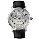 Fake Cartier Rotonde de Cartier Day and Night Palladium W1556244