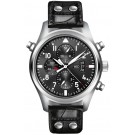 Fake IWC Pilot's Watch Double Chronograph Steel IW377801