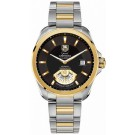 TAG Heuer Grand Carrera Two Tone Black Dial Replica Watch WAV515A.BD0903