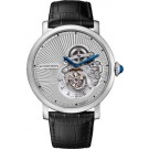 fake Rotonde de Cartier Flying Tourbillon reversed dial watch