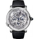 fake Rotonde de Cartier Grande Complication skeleton watch