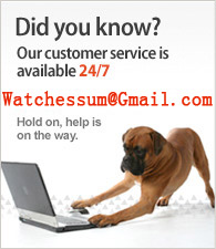 Our customer service is available 24/7.Mail us watchessum@gmail.com.