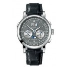 Replica A.Lange & Sohne Datograph Perpetual White Gold with Grey Dial 410.038