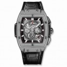 fake Hublot Spirit Of Big Bang Titanium Pave