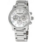 Replica Montblanc TimeWalker Chronograph XXL Stainless Steel Silver Dial 09669