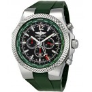 Fake Breitling Bentley GMT Green Dial Chronograph Mens Watch A47362S4-B919