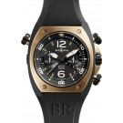 Replica Bell & Ross Marine Chronograph Mens Watch BR 02-94 Pink Gold & Carbon