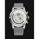 Breitling Transocean Chronograph Unitime AB0510U0/A790/152A Stainless Steel clone Watch