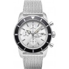 Breitling Superocean Heritage Chronograph Silver Dial A1332024/G698/152A clone Watch